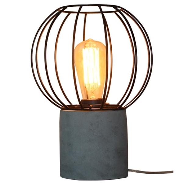 Tischlampe madrid rund schreibtisch lampe leuchte for Schreibtisch rund